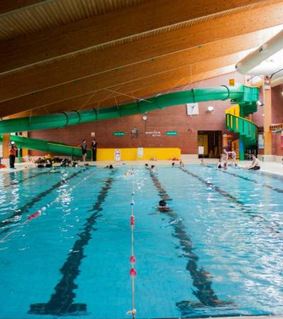 Swimming pool at Swan Pool and Leisure Centre in Buckingham