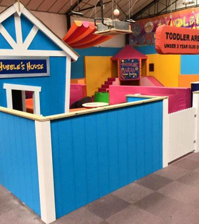Toddler soft play area at Big Space Indoor Play Centre in Harpenden
