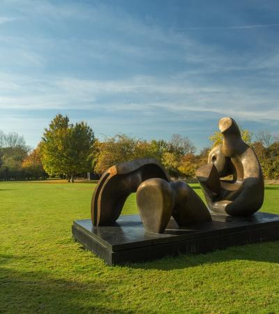 Sculpture at The Henry Moore Foundation in Much Hadham