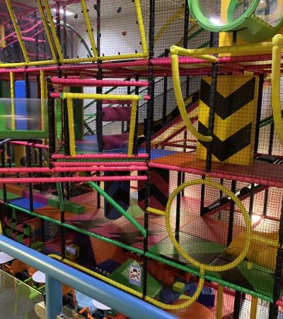 The soft play facility at Playzone at the Furzefield Centre