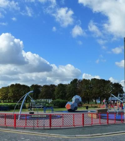 Playground at Memorial Park in Herne Bay