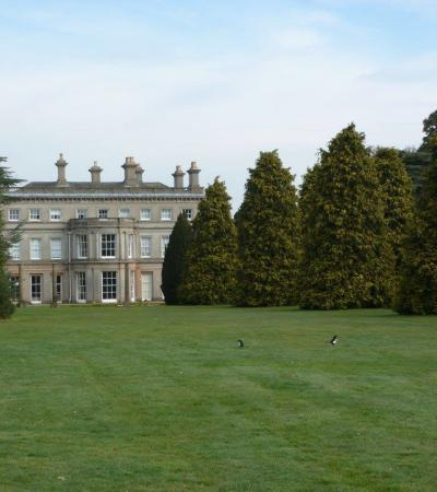 Outside view of hall at Chantry Park in Ipswich
