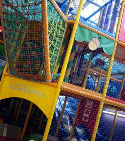 Soft play area at Little Acorns Indoor Play in Worcester