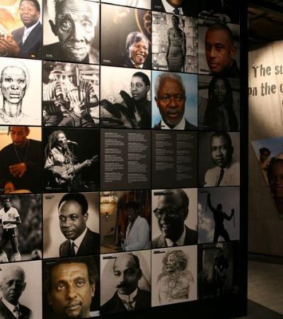 Exhibit at International Slavery Museum in Liverpool