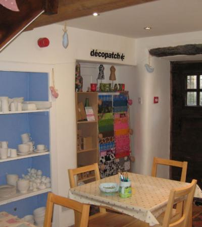 Crafts at Baked Well Pottery Painting in Bakewell