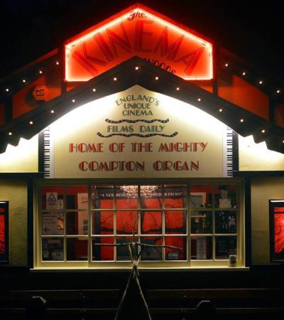 Outside view of Kinema In The Woods in Woodhall Spa