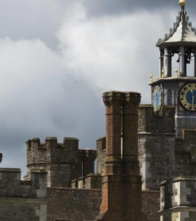 Clock Tower at Knole Park in Sevenoaks