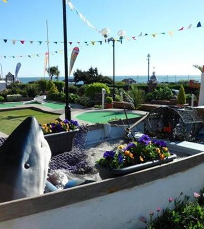 Mini golf course at Lillyputt Mini Golf in Broadstairs