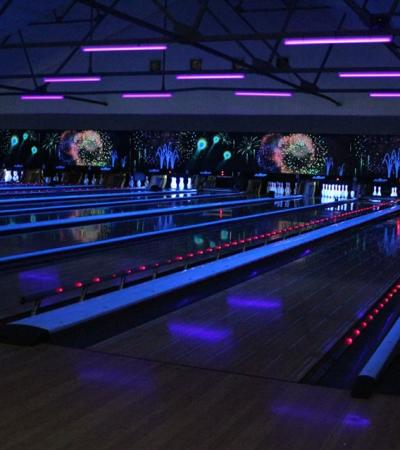 Bowling alleys at Alleycatz in Spalding