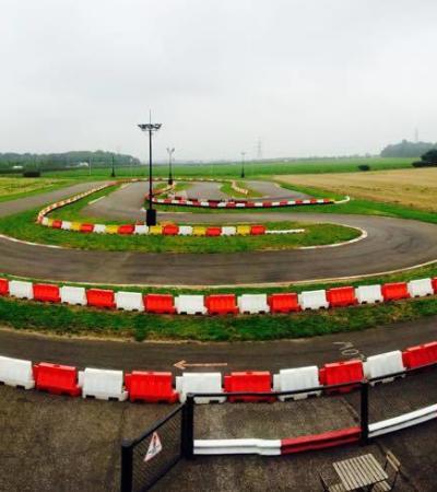Racing track at Elk Motorsports in Newark
