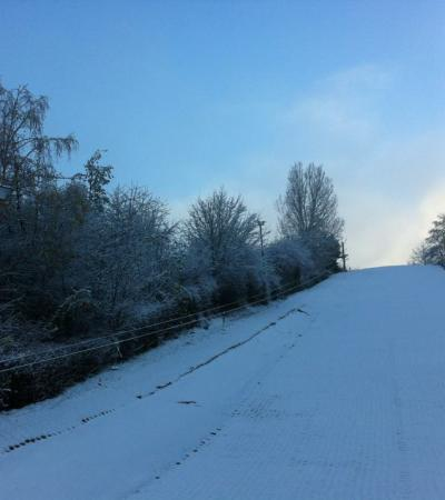Slope at Runcorn Ski Centre