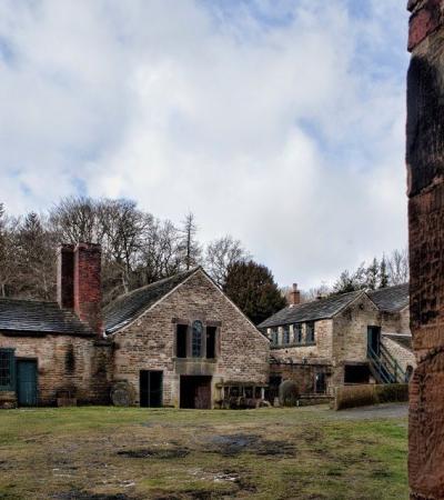 Outside view of Abbeydale Industrial Hamlet in Sheffield