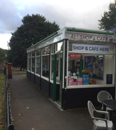 Shop and cafe at Funways in Warminster