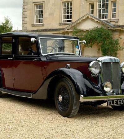 Classic car at Atwell Wilson Motor Museum in Calne