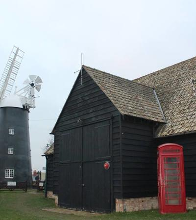 Victorian village and windmill at Burwell Museum