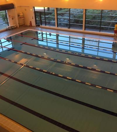 Swimming pool at Royston Leisure Centre