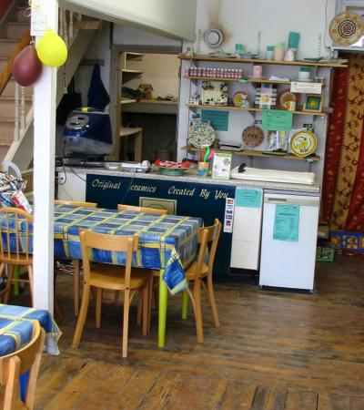 Studio of Ceramics Cafe Richmond