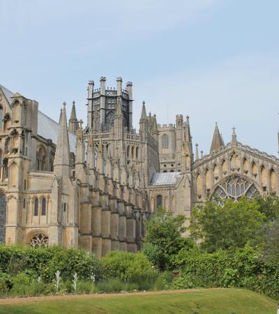 Ely Cathedral on Curious About Ely trail