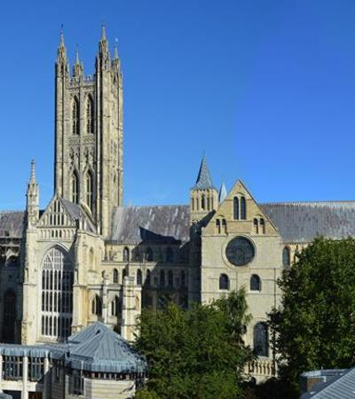 Outside view of Canterbury Cathedral