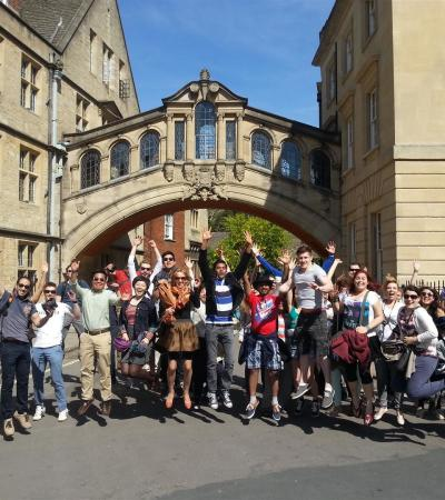 People on Footprint Tours Oxford