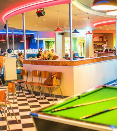 Diner at JR's Stomp, Dine, Strike in North Walsham
