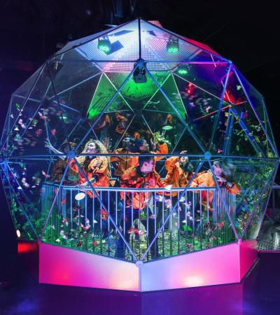 Dome at Crystal Maze Experience in Manchester