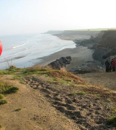 A view of Happisburgh Beach, Happisburgh