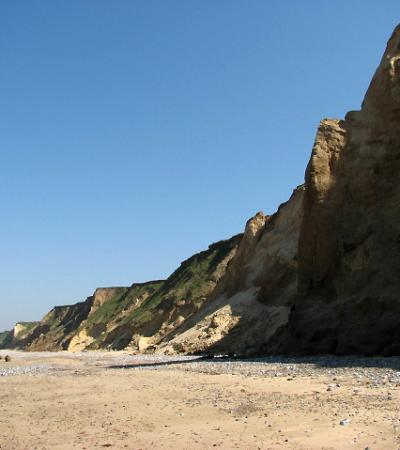 The cliffs at West Runton Beach, West Runton