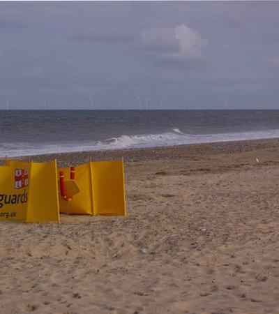 A view of Hemsby Beach, Hemsby