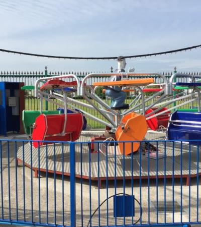 Sky Driver ride at Leisure Island Fun Park in Canvey Island