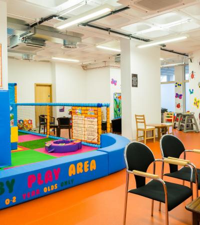 Baby Play area at Soft Play City in Welwyn Garden City