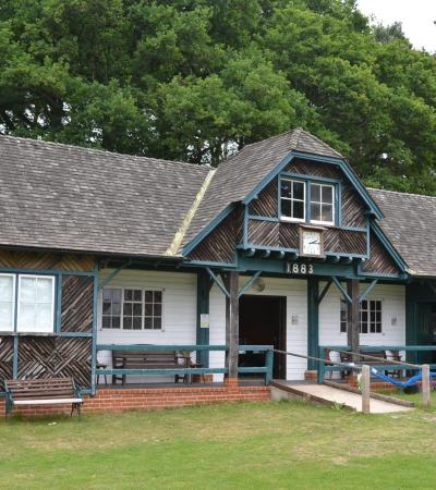 Outside view of Rural Life Centre in Farnham