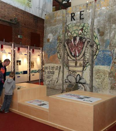 Exhibition at Royal Engineers Museum in Gillingham