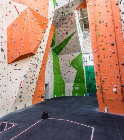 Climbing walls at Reading Climbing Centre