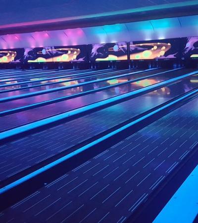Bowling alleys at MFA Bowl Lewisham