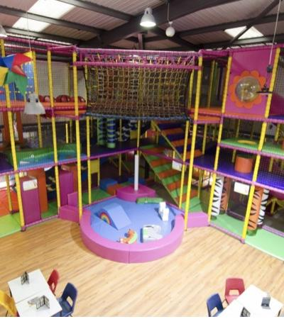 The soft play area at Krazy Krocs Play Centre