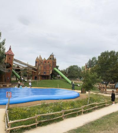 Fern's Castle play area at Hobbledown