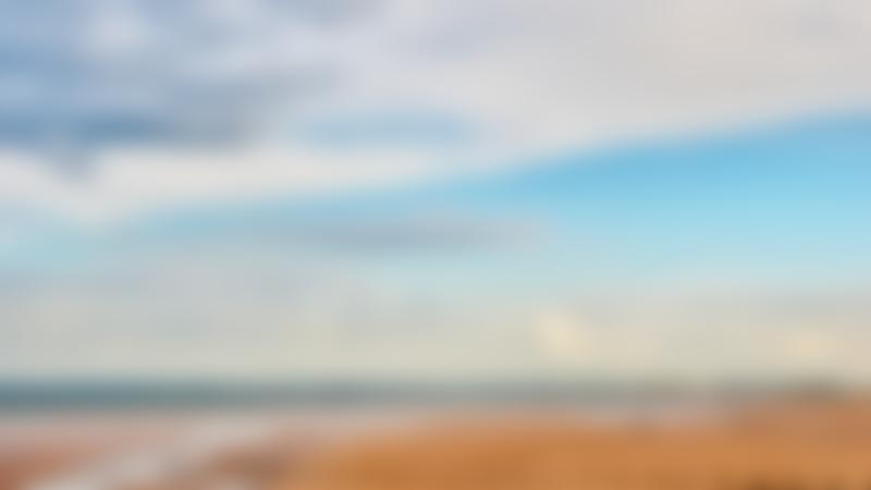 Sunny day at Bridlington Beach