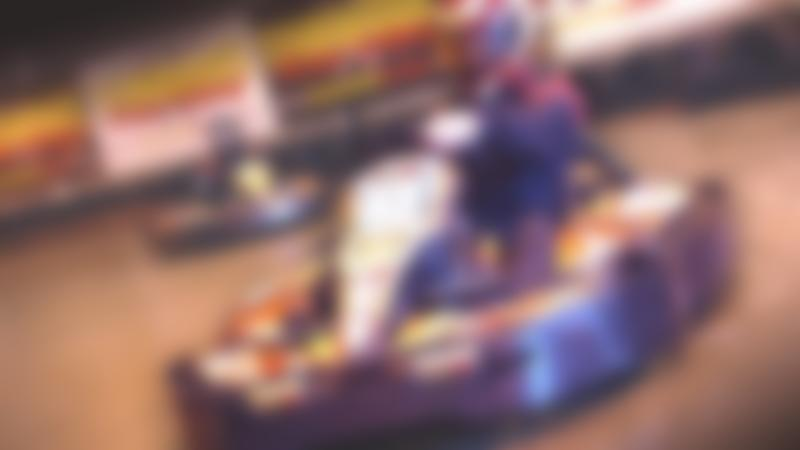 Person racing at Teamworks Karting Letchworth