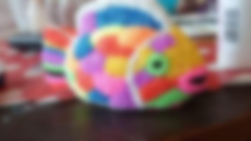 Decorated fish at Ark Kidz in Long Sutton