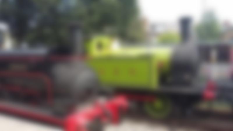 Steam trains at Middleton Railway in Leeds