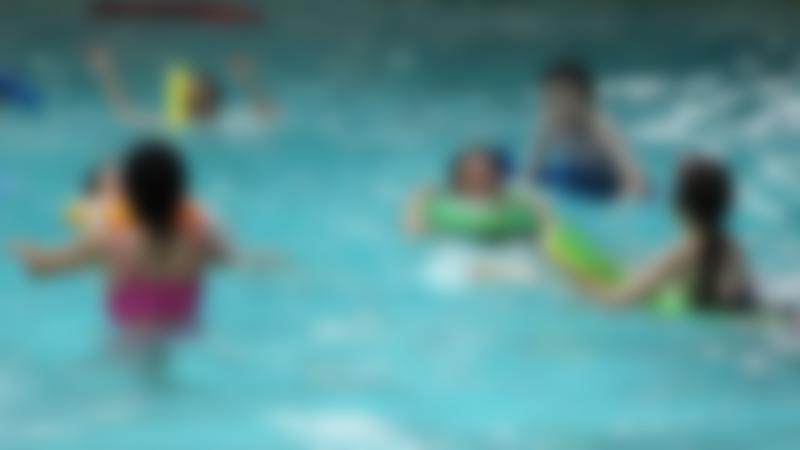 Kids in swimming pool at Hyde Leisure Pool