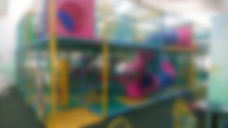 Indoor soft play frame at Swithens Farm and Play Barn in Leeds