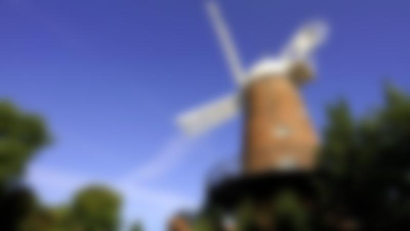 Outside view of Greens Windmill and Science Centre in Nottingham