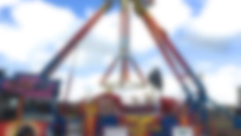 Ride at Codonas Amusement Park in Aberdeen