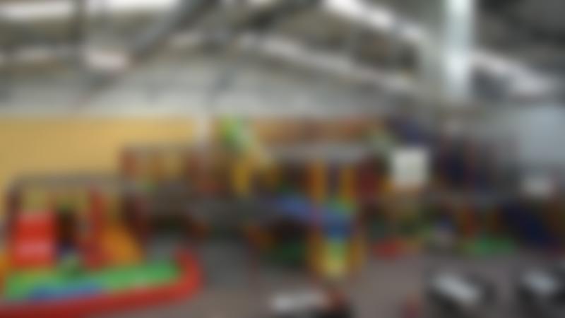 Indoor soft play frame at Megaplay Leeds