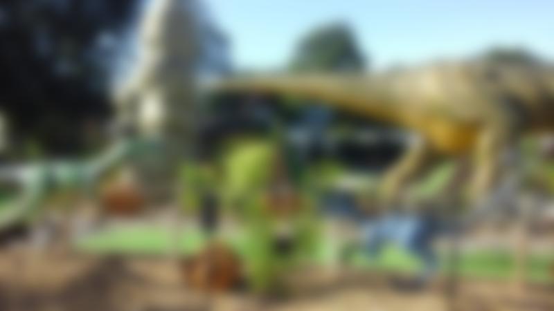 Dinosaurs at Jurassic Golf Bridgemere in Nantwich