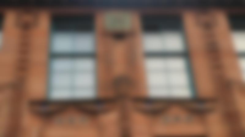 Windows at Scotland Street School Museum in Glasgow