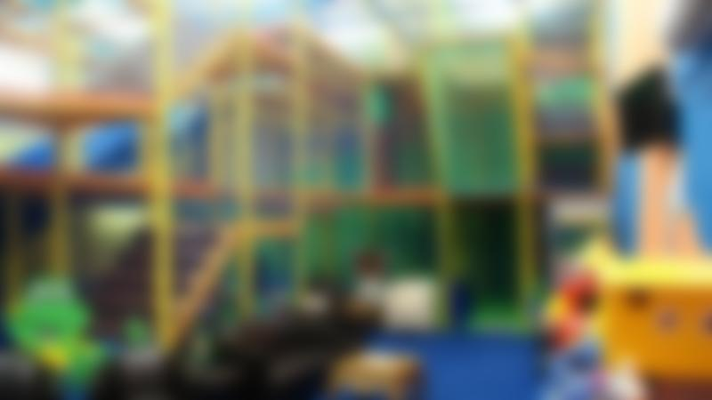 Indoor soft play frame at Monkey Business in Great Yarmouth