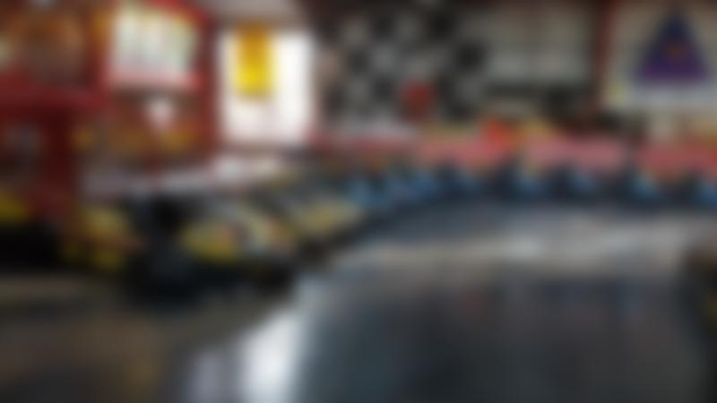 Go karts at Raceview Karting in Ballymena